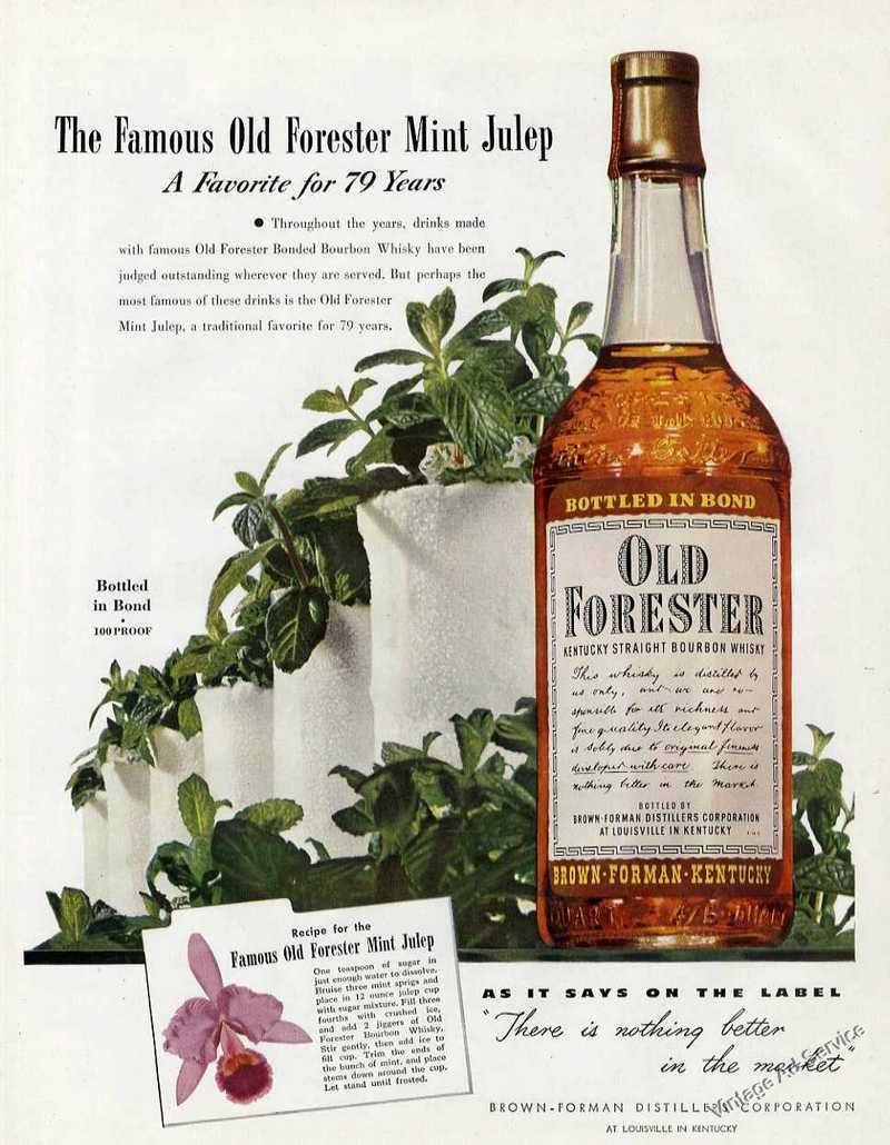 Old Forester, 1968
