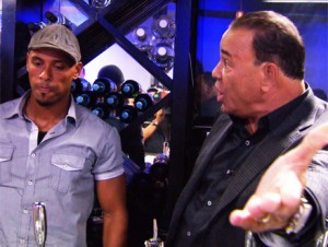 Taffer, right, actually has to explain that bar flies are supposed to be of the human variety