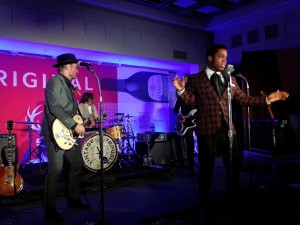Vintage Trouble perform at the NYC launch party