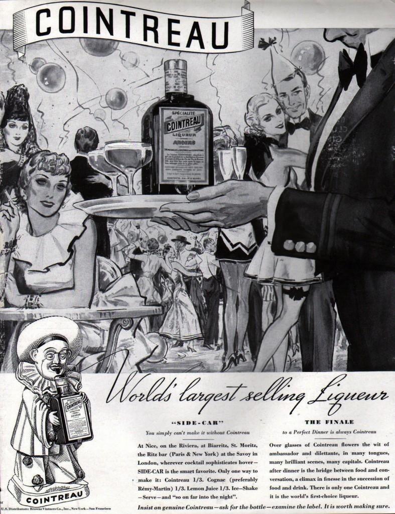 Cointreau, 1934