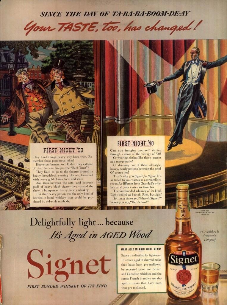 Signet, 1940