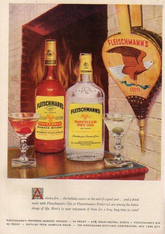Fleischmann's, 1955