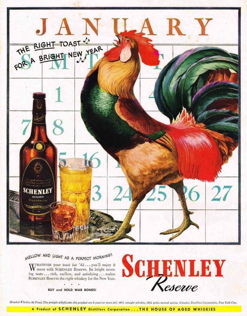 Schenley, 1945
