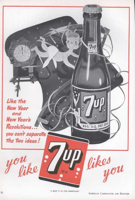 Image result for vintage ads for the new year