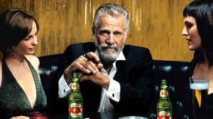 Dos Equis - look cool, but don't drink!