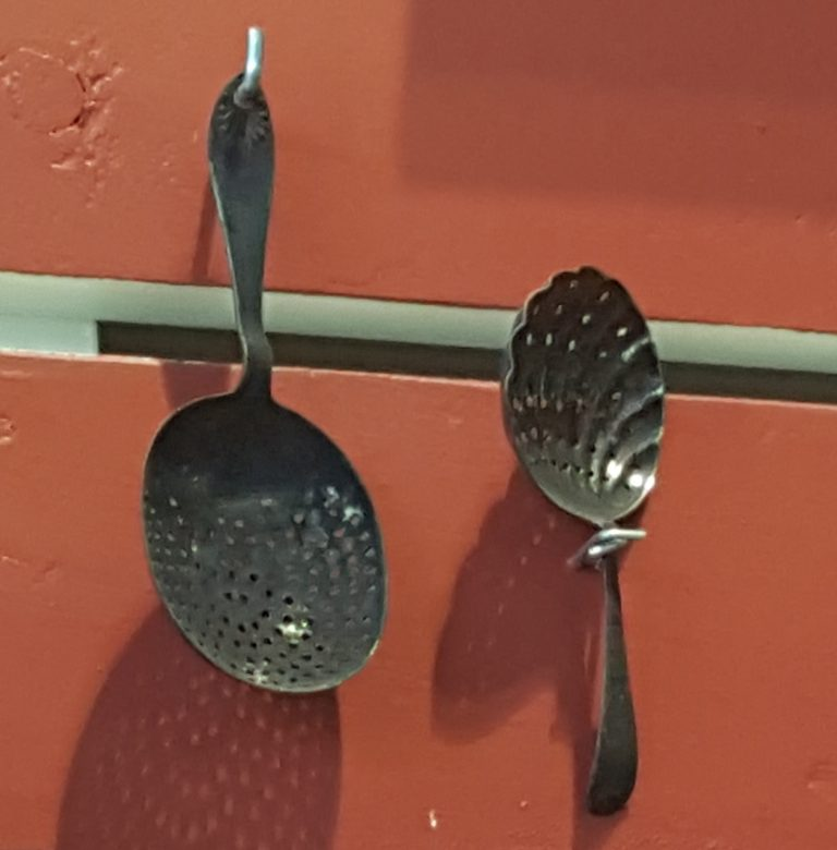 Julep strainers, photo by Brian Petro