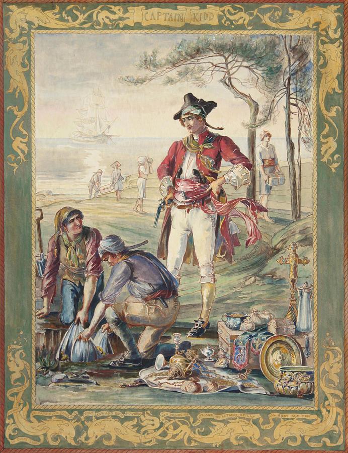 Captain Kidd via Paul Ashby Antique Paintings