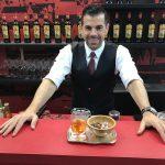 Ago Perrone with Amaro Lucano chili cocktail
