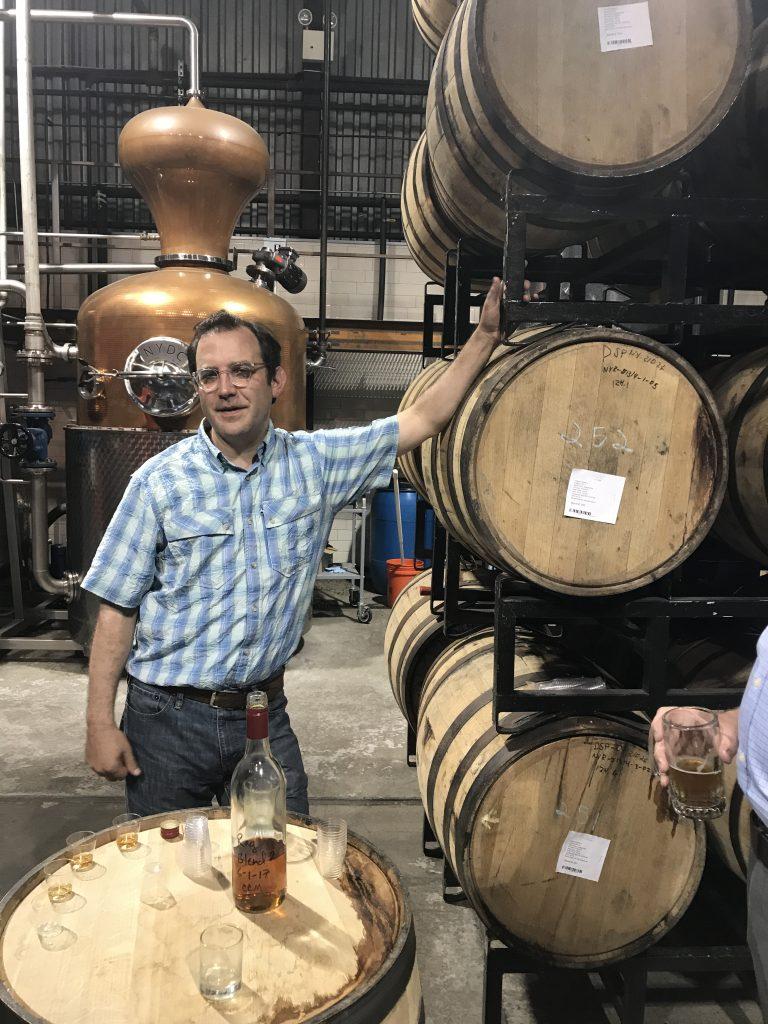 Allen Katz at NY Distilling
