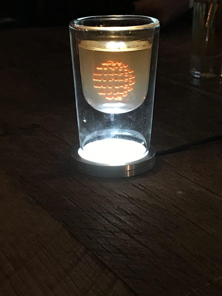 Auchentoshan 3D printed cocktail