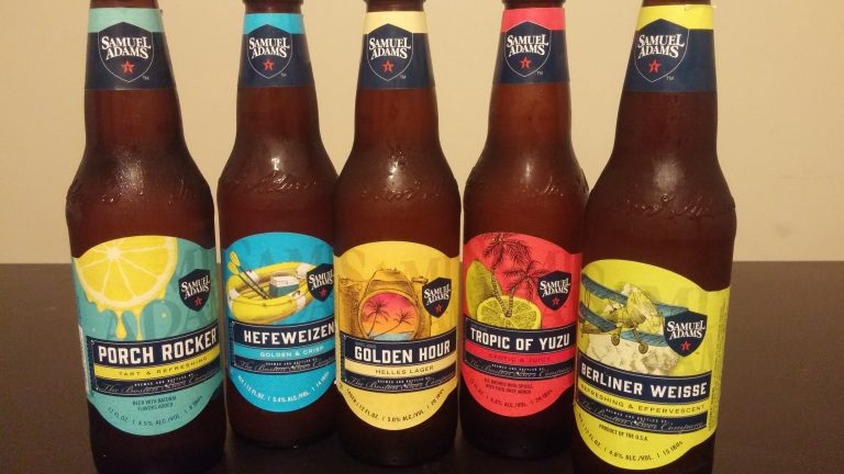Just some of the beers Sam Adams released for summer 2017