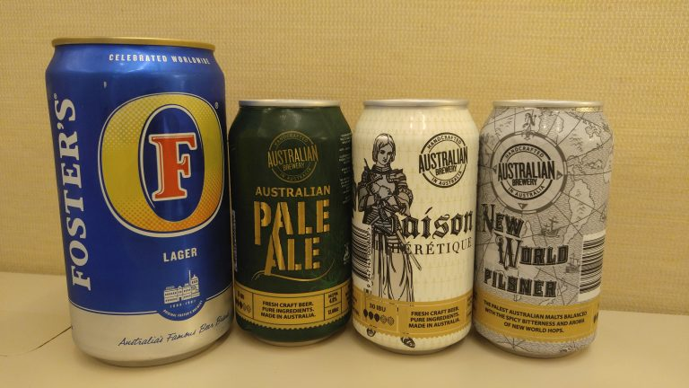 One of these beers is not like the others, photo by Phil Galewitz