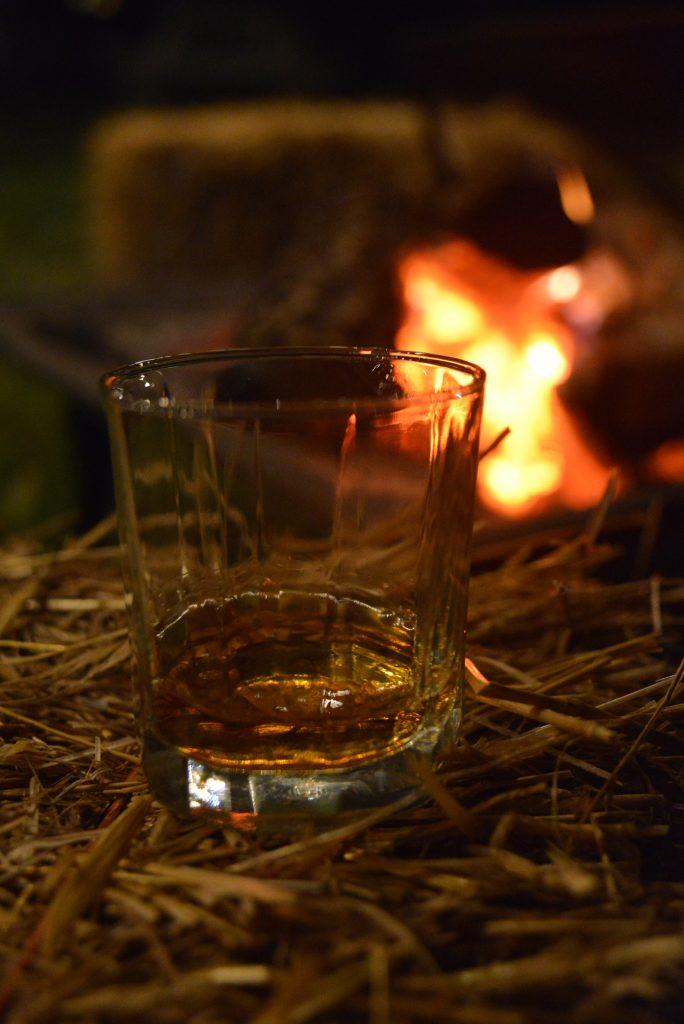 bottled in bon-fire!