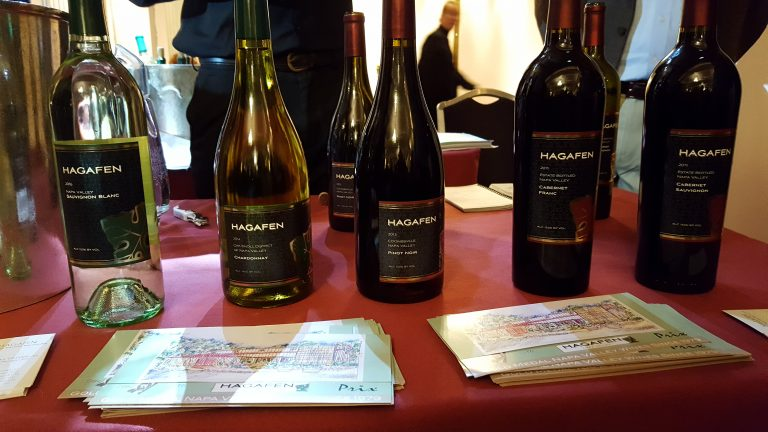 Hagafen wines, photo by Robin Goldsmith