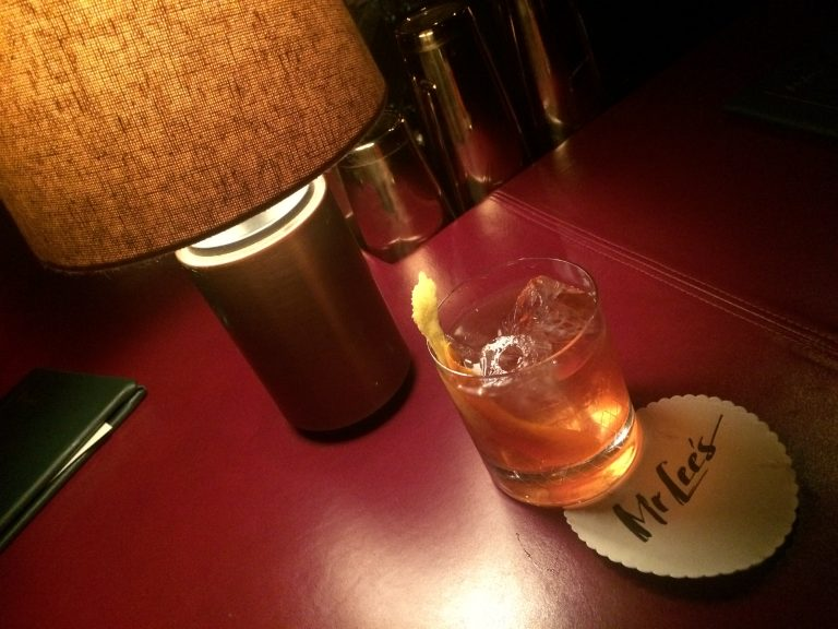 an Old Fashioned at Mr. Lee's, photo by Sara Havens