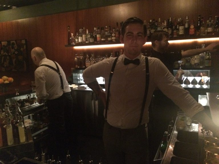 Bartender Casey Kraft, photo by Sara Havens