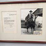John Wayne's letter to Don Javier