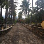 walkway on the hacienda