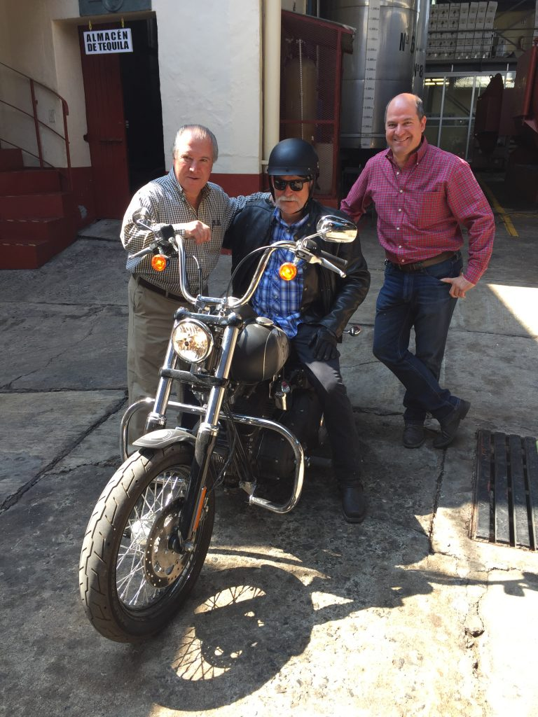 Tres amigos (L-R) Eduardo Orendain, Don Guillermo, Jaime Orendain