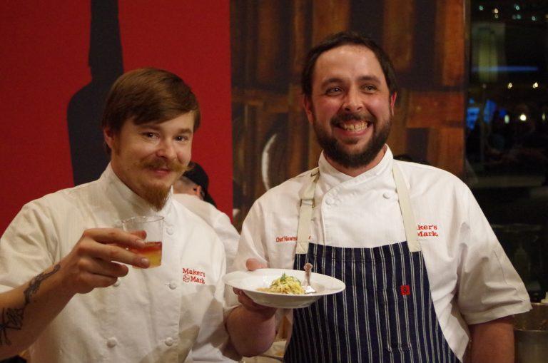 Chad Reid and Newman Miller, Team Maker's Mark - photo by Jordan McFarland