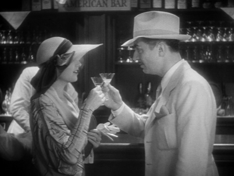 Scene from One Way Passage, courtesy precode.com