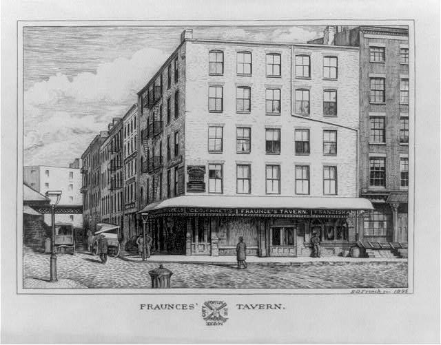 Fraunces Tavern, courtesy Library of Congress