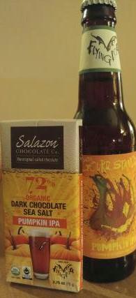 Flying Dog Gourd Standard with Salazon chocolate