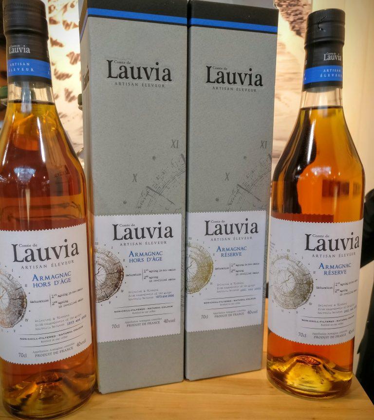 Comte de Lauvia's Hors d'Age and Réserve
