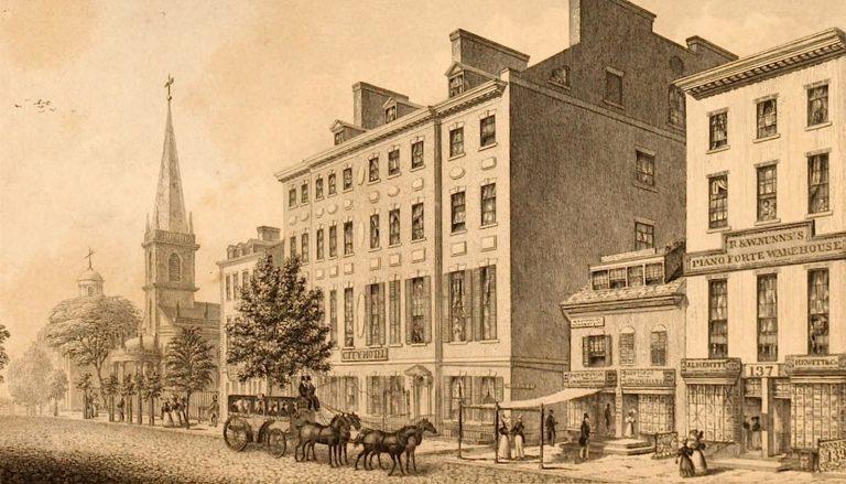 The City Hotel, New York