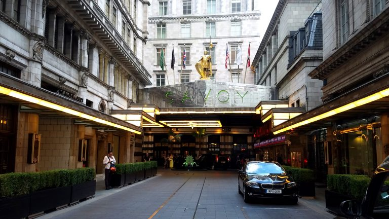 Savoy Hotel, photo by Keith Allison
