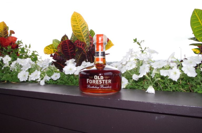 At the Whiskey Row media preview of Old Forester's latest Birthday Bourbon at the Frazier History Museum.