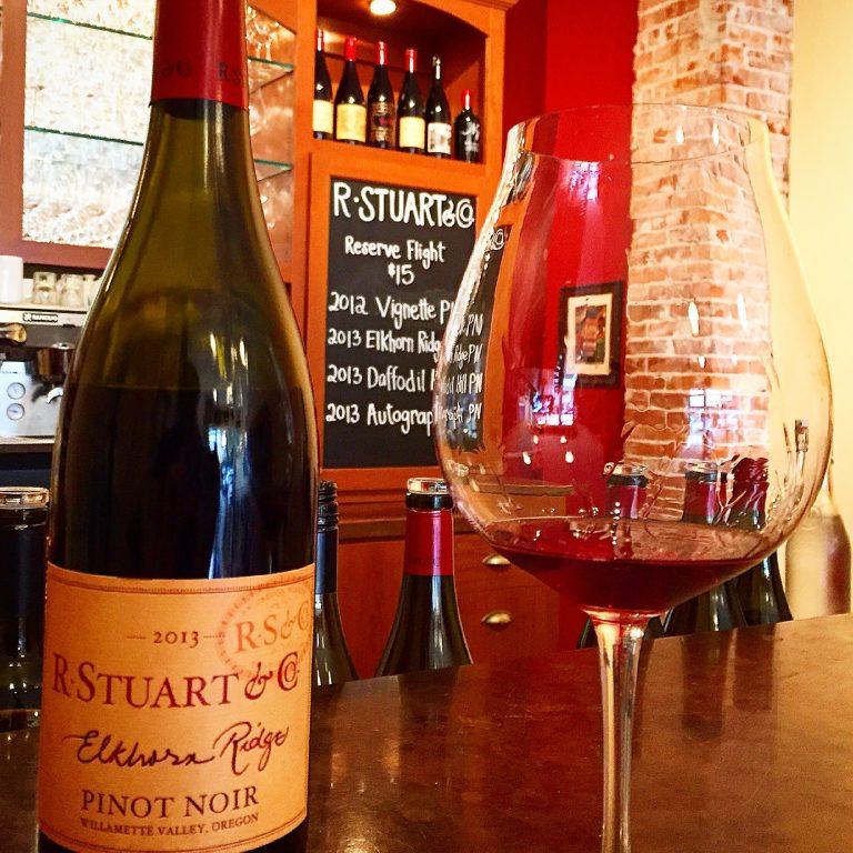 R. Stuart winery pinot, photo by Ryan Stevens
