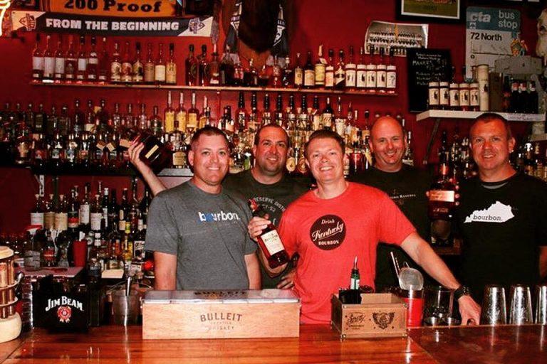 Team Bourbon at Haymarket Bar, Louisville