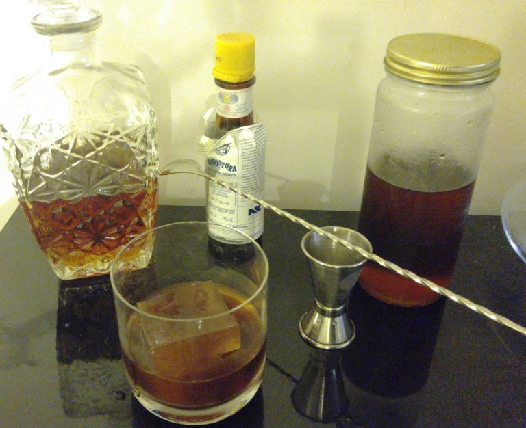 Double Shot Old Fashioned