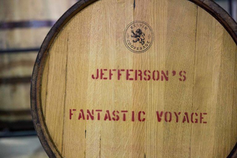 """Fantastic Voyage"" bourbon awaiting its journey"