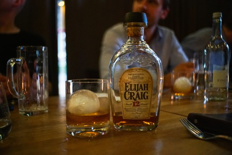 private Elijah Craig bourbon barrel selection at Barbecoa, London