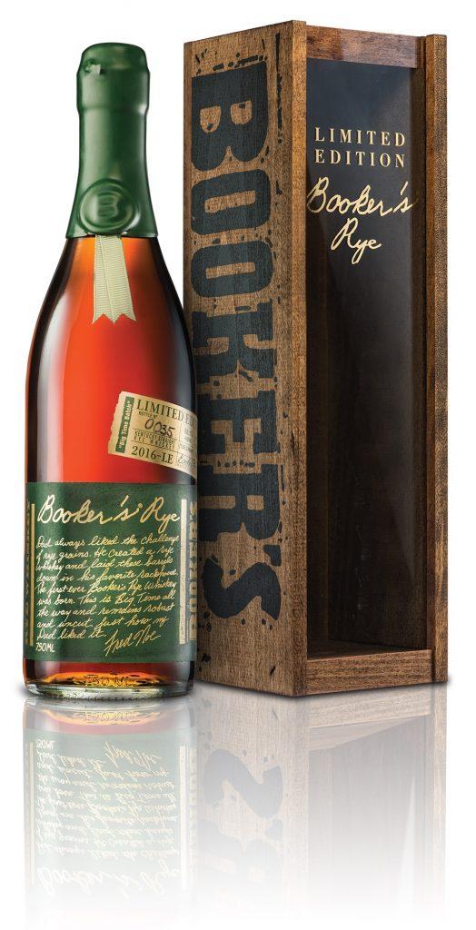 Booker's Rye Bottle + Box Shot JPEG