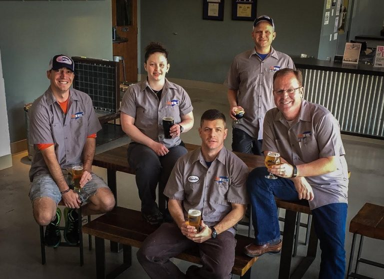 The Fair Winds Brewing Team