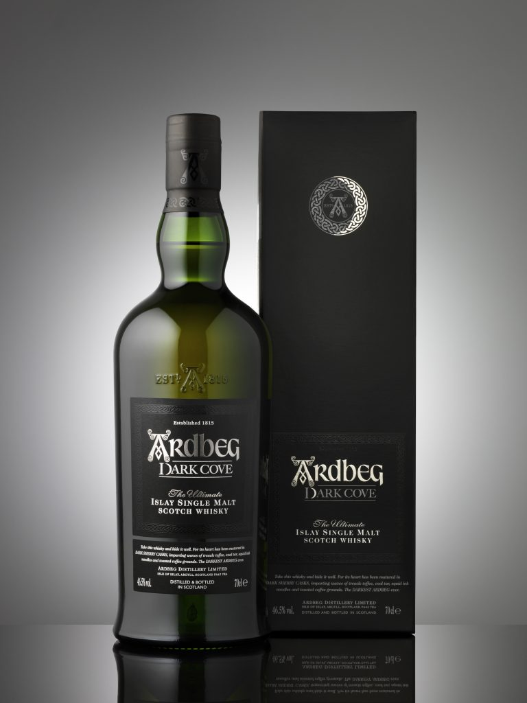Ardbeg Dark Cove General Release Bottle Image