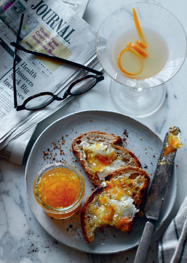 The Breakfast Martini, photo by Jason Varney