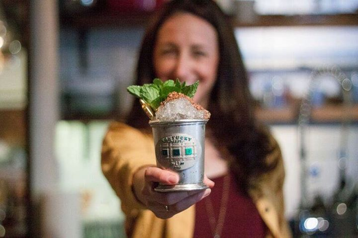 Woodford Reserve $1000 Mint Julep, photo by Jessie Gibson