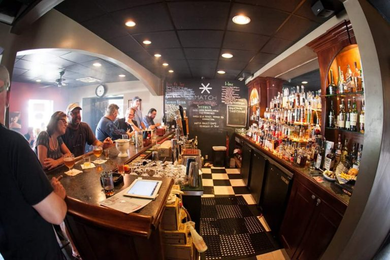 Match Cigar Bar, courtesy Linda Doane