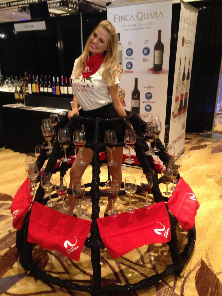 Wines of Navarra is served at WSWA 2015, photo by Amanda Schuster