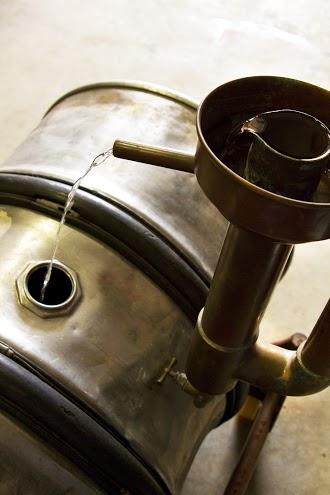 distilling at Ransom spirits
