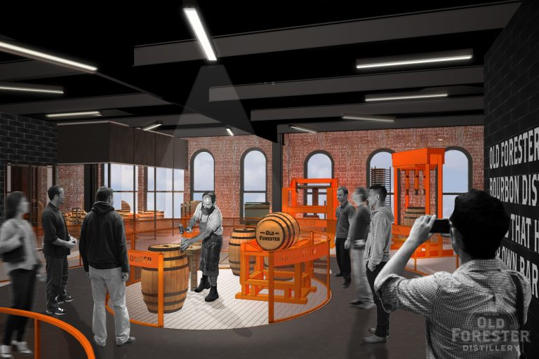 Old Forester Tour Rendering