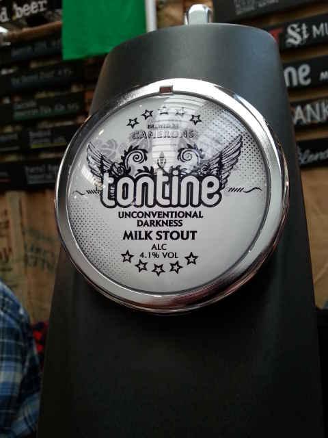 Tontine Milk Stout