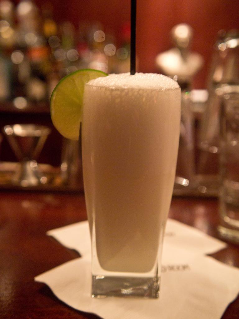Ramos Gin Fizz, photo by Edsel Little