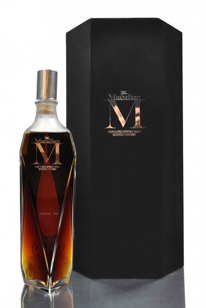 Macallan M is one of the rare, high-end spirits featured in Anvil's Break Even Bottle program