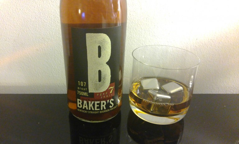 Bakers Bourbon chilled with Kollea steel cubes