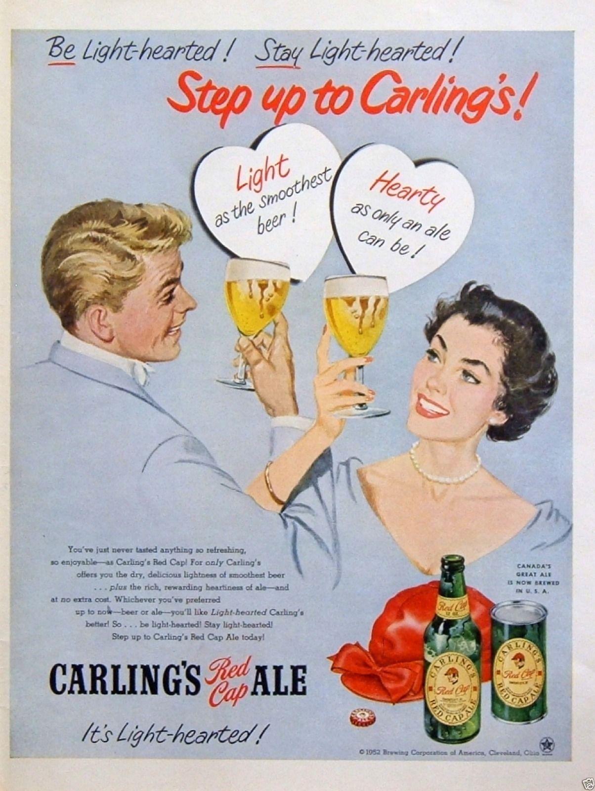 Carling's Red Cap, 1952